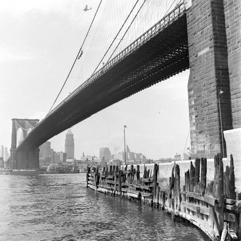 Brooklyn bridge 1946