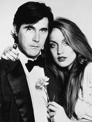 Bryan Ferry and Jerry Hall, 1976.
