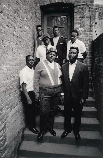 Big Mama Thornton and Muddy Waters Blues Band