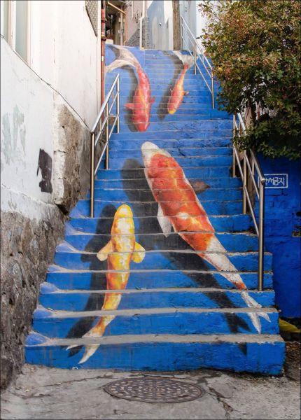 Fish stairs