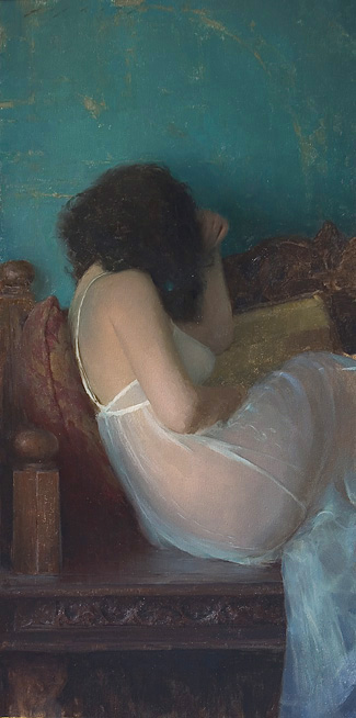 Diaphanous Gown, Jeremy Lipking