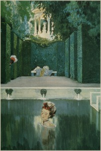 AlexanderBenois_The MarquiseBathing_1906_100