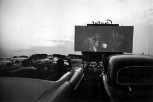 Robert Frank (U.S.A., b. Switzerland 1924)drive-in-movie-detroit-1955-Detroit