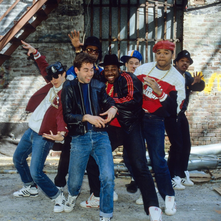 Beastie Boys, Run DMC, and DJ Hurricane 1987
