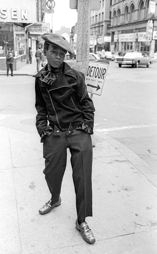Wanna be pimp, 10 am, Washington St. The Combat Zone, Boston, MA., 1968