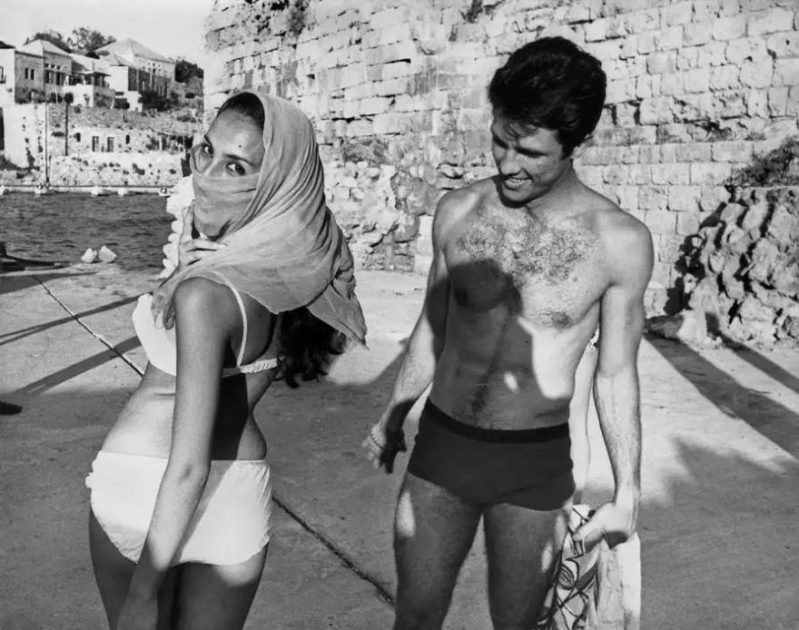 Byblos, Lebanon 1965 (Photo by Raymond Depardon)