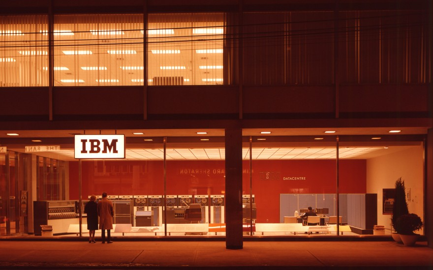 IBM Datacentre - Toronto, 1964