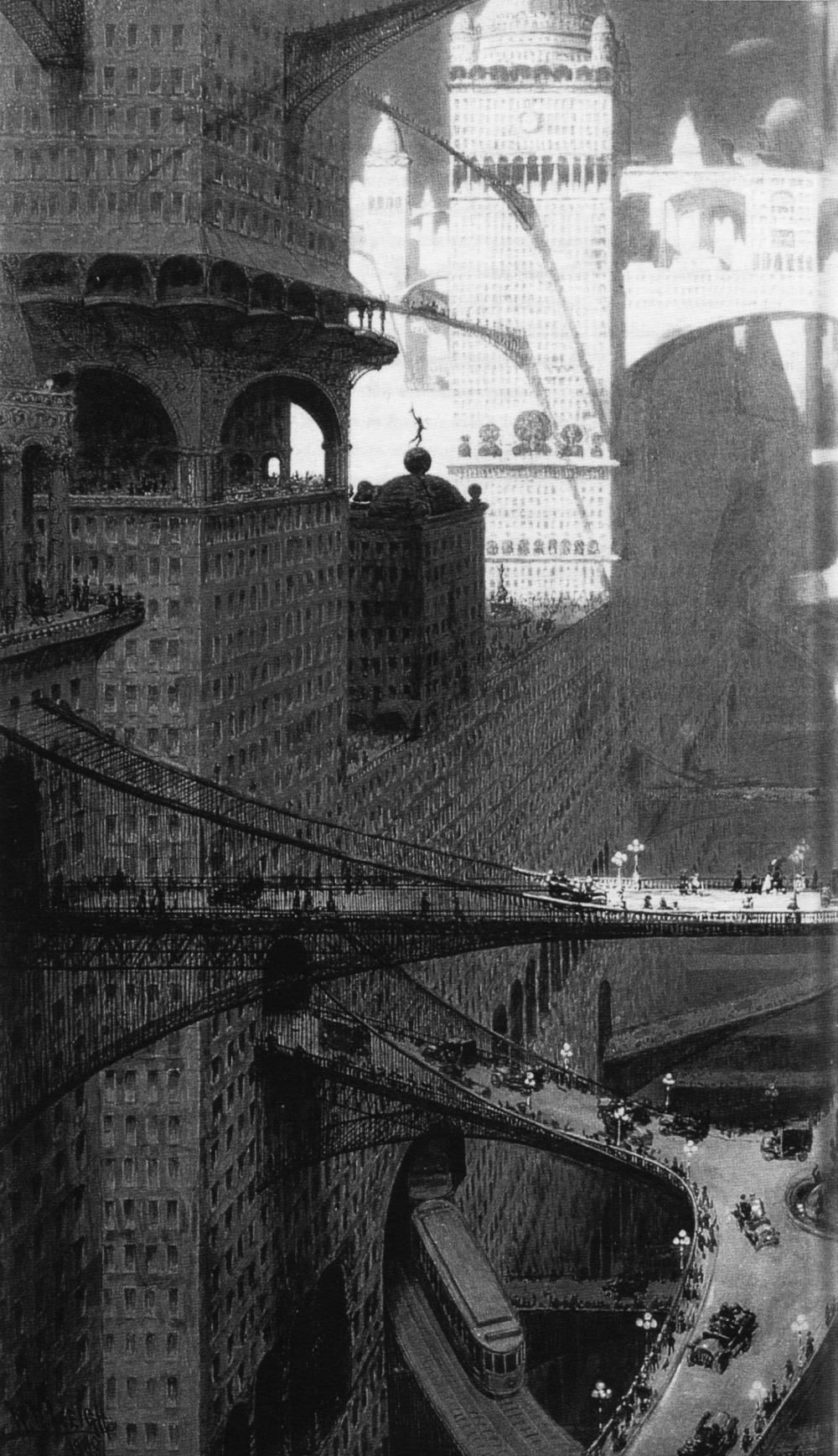 William Robinson Leigh, Visionary City, 1908.