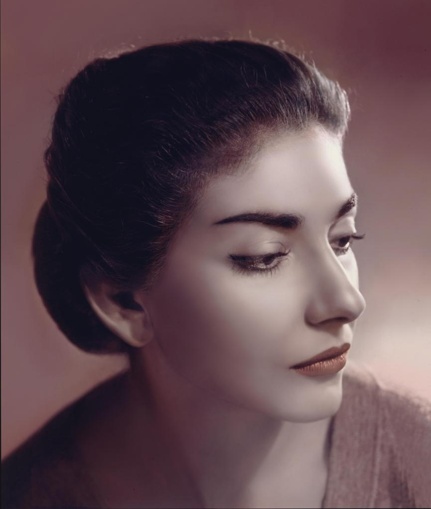 Maria Callas in the 50s