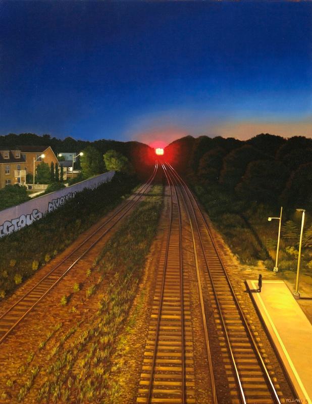 Yelland-Lasttrain-36x28-oc