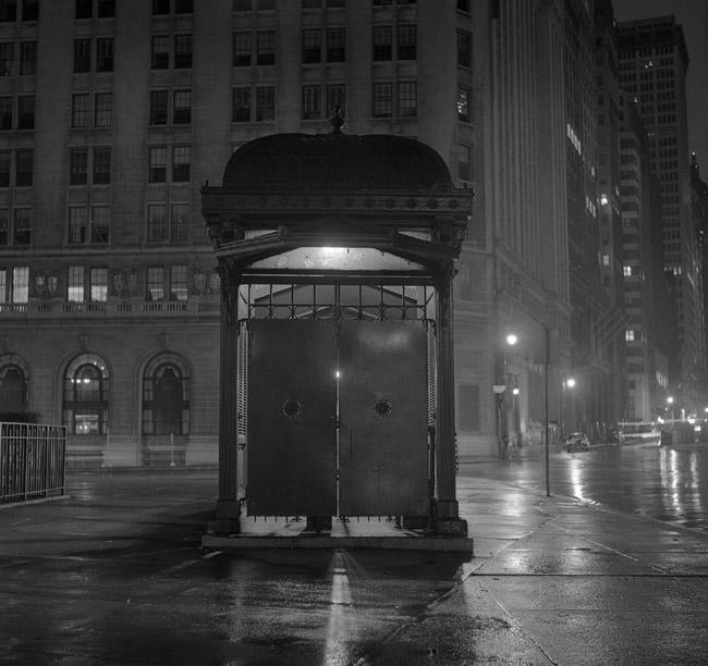 Battery Park subway entrance 1958