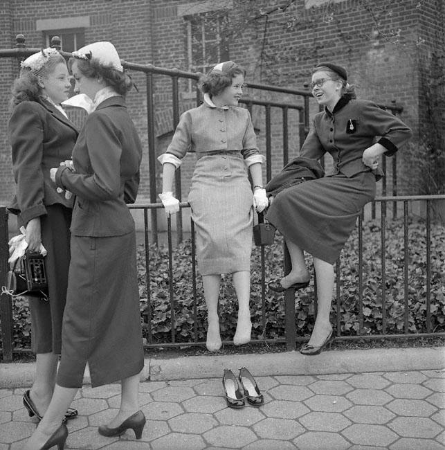 School girls1953