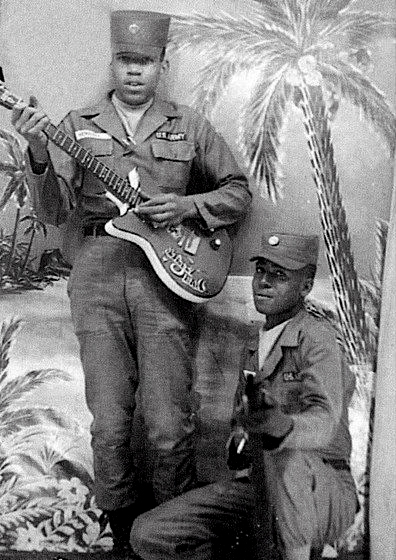 Jimi Hendrix in the army, 1961