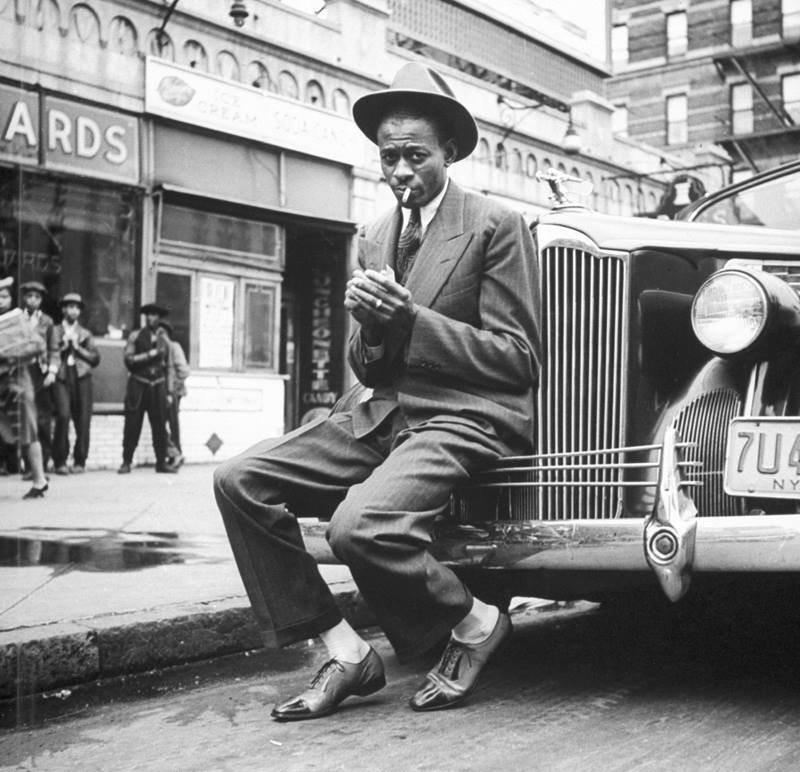 Satchel Paige, Harlem, 1941.