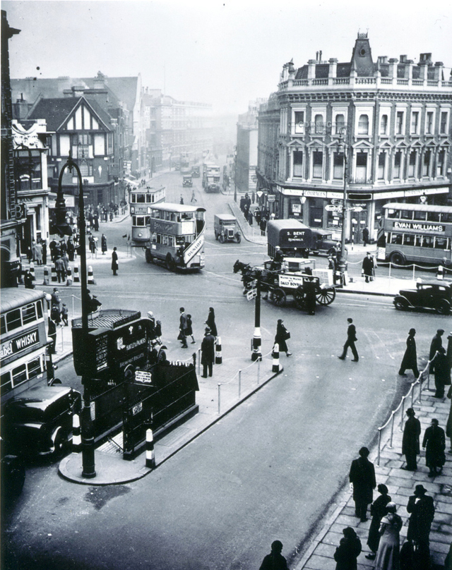 London Camden Town in the 1930s
