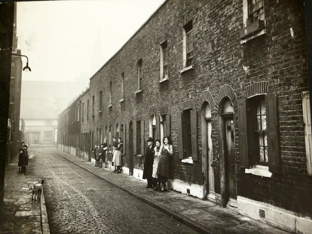 London Lockyer Street, Bermondsey, London, 1935
