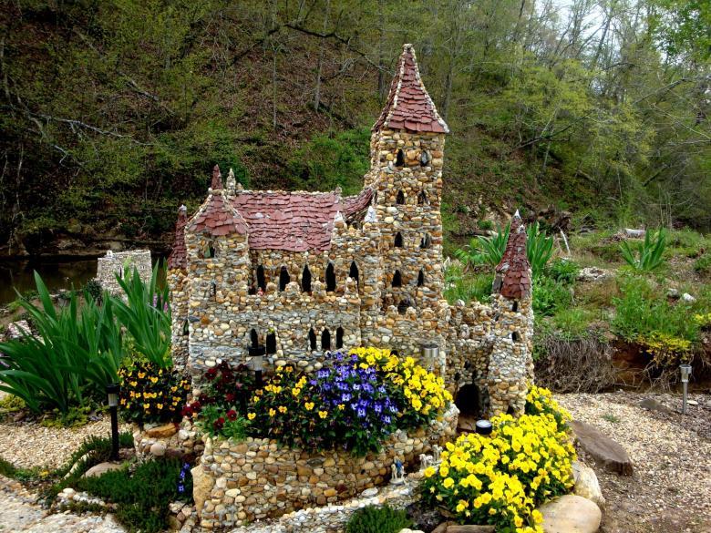 rock garden in Calhoun GA!4