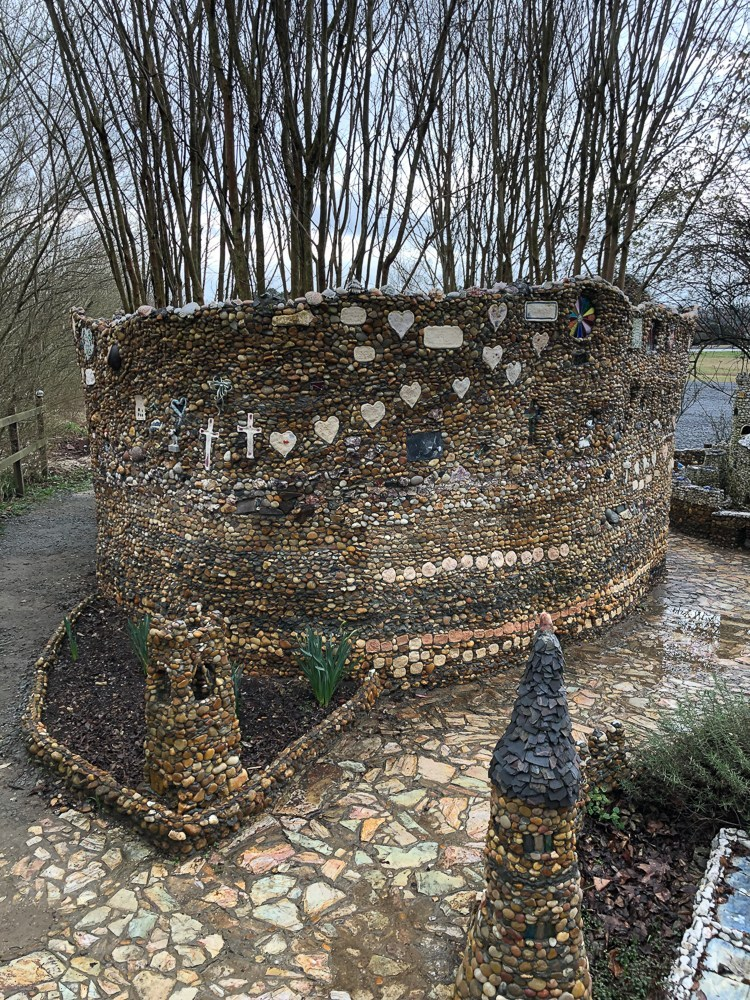 rock garden in Calhoun GA!7
